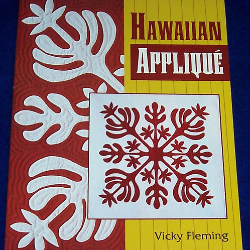 Hawaiian Applique Vicky Fleming Quilt Book