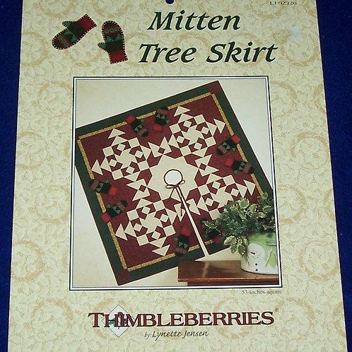 Thimbleberries Mitten Tree Skirt Lynette Jensen Quilt Pattern