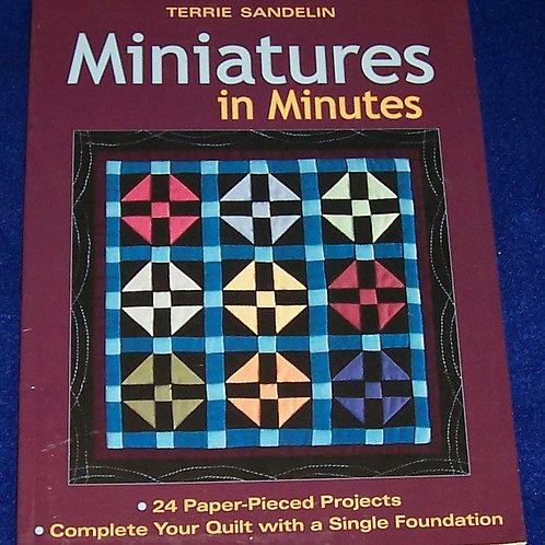 Miniatures in Minutes Terrie Sandelin Quilt Book