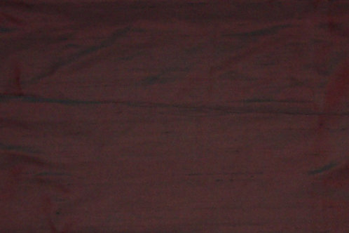 Silk Dupioni By the Piece Reddish Brown 7/8 Yard