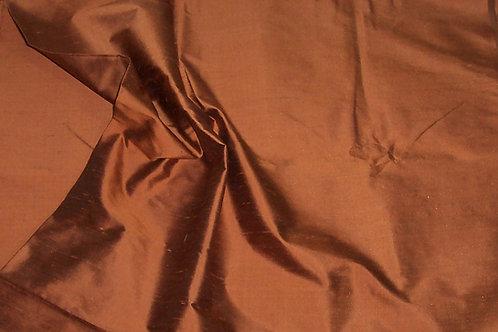 Silk Dupioni By the Piece Bronze 3 Yards
