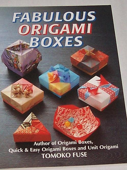 Fabulous Origami Boxes Tomoko Fuse Book