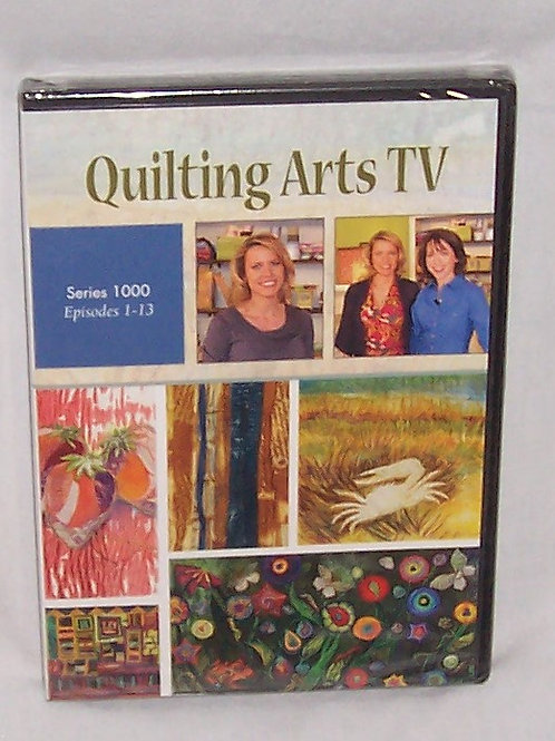 Quilting Arts TV Series 1000 Episodes 1 - 13 DVD Patricia Bolton