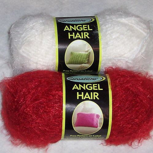 2 Sensations Angel Hair Yarn 3.5oz/120yds 22%Wool 50%Acrylic 28%Nylon
