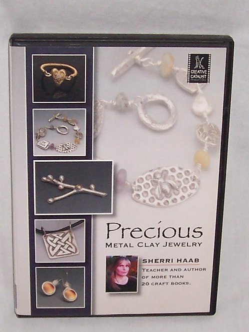 Creative Catalyst Precious Metal Jewelry DVD Sherri Haab