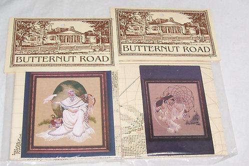2 Cross Stitch Chart Pattern Butternut Road Marilyn Leavitt-Imblum Spiritdancer+