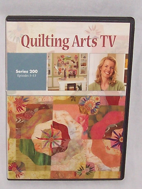 Quilting Arts TV Series 200 Episodes 1 - 13 DVD Patricia Bolton