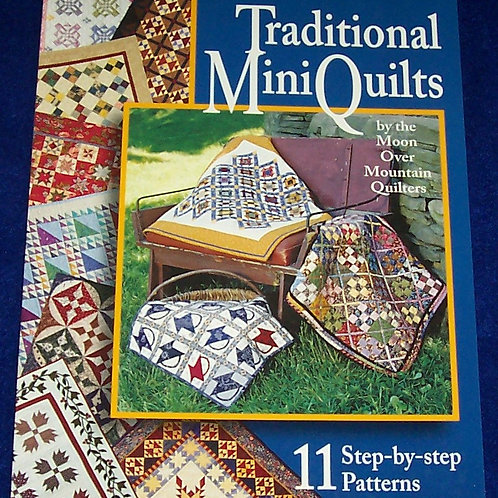 Traditional Mini Quilts Quilt Book