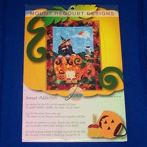 Mount Redoubt Sweet Addiction Quilt Pattern Halloween