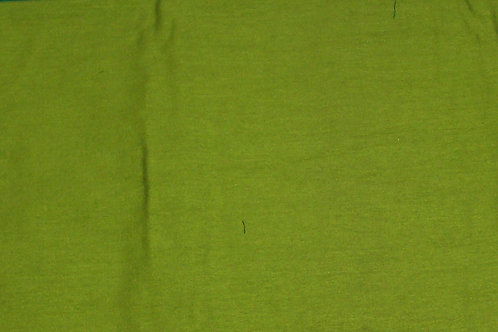 Silk or Silk Blend By the Piece Lime Green 1-1/8 Yards