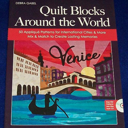 Quilt Blocks Around the World + CD Debra Gabel Quilt Book