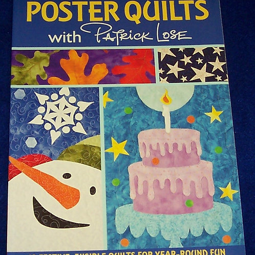 Poster Quilts with Patrick Lose Quilt Book
