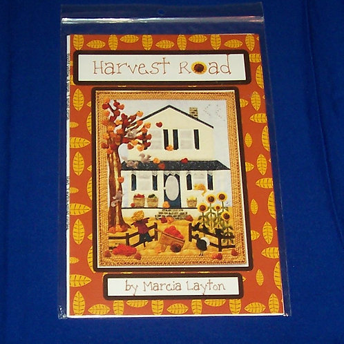 Harvest Road by Marcia Layton Quilt Pattern Autumn Time