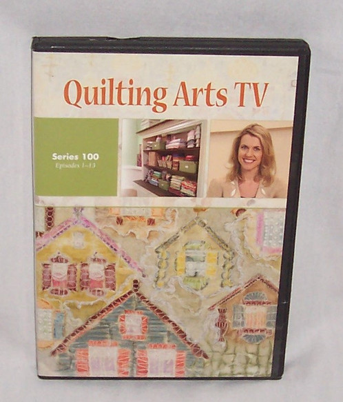 Quilting Arts Tv Series 100 Episodes 1 13 Dvd Patricia Bolton