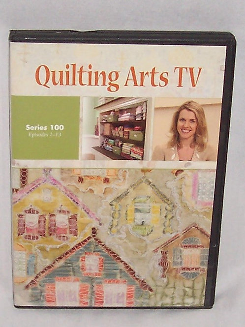 Quilting Arts TV Series 100 Episodes 1 - 13 DVD Patricia Bolton