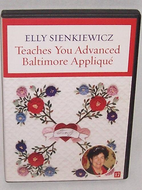 Elly Sienkiewicz Teaches You Advanced Baltimore Applique DVD 17