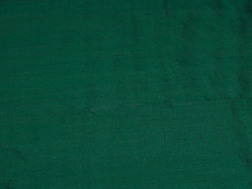Silk Dupioni By the Piece Green 2-1/8 Yards