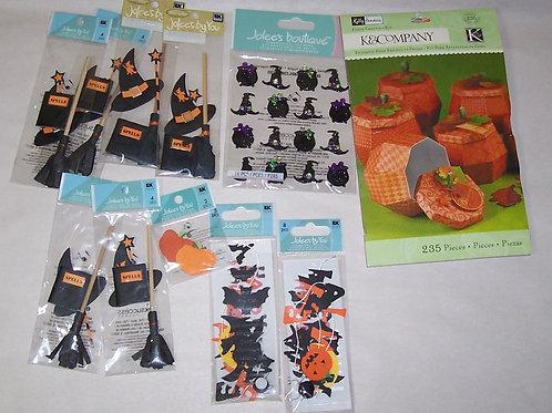 K & Company EK Success Jolee's By You Halloween Paper Kit Dimensional Stickers