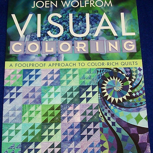 Visual Coloring Joen Wolfrom  Quilt Book