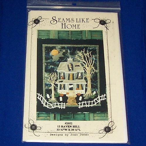 Seams Like Home 13 Raven Hill Halloween Quilt Pattern Joan Jones