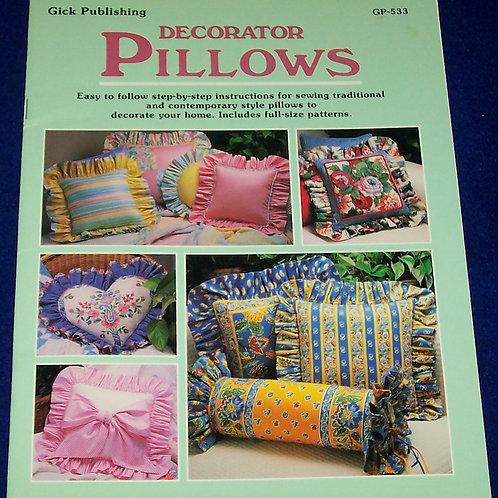 Gick Publishing Decorator Pillows Patterns Booklet