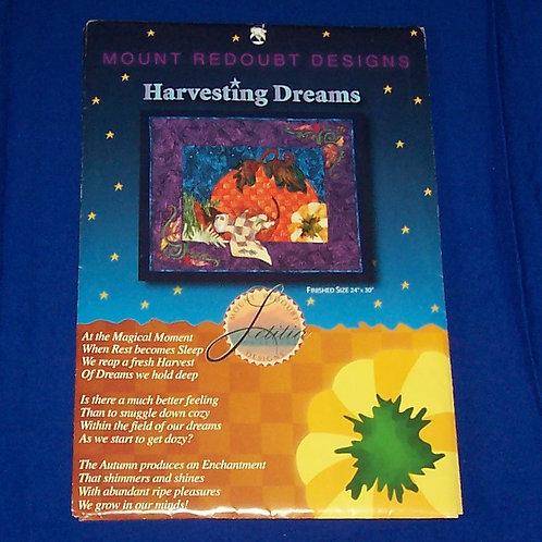 Mount Redoubt Harvesting Dreams Quilt Pattern Pumpkin