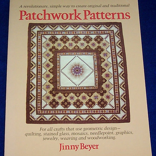 Patchwork Patterns Jinny Beyer Quilt Book