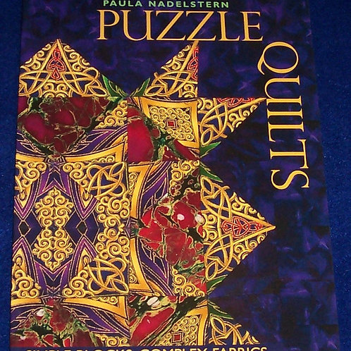 Puzzle Quilts Paula Nadelstern Quilt Book