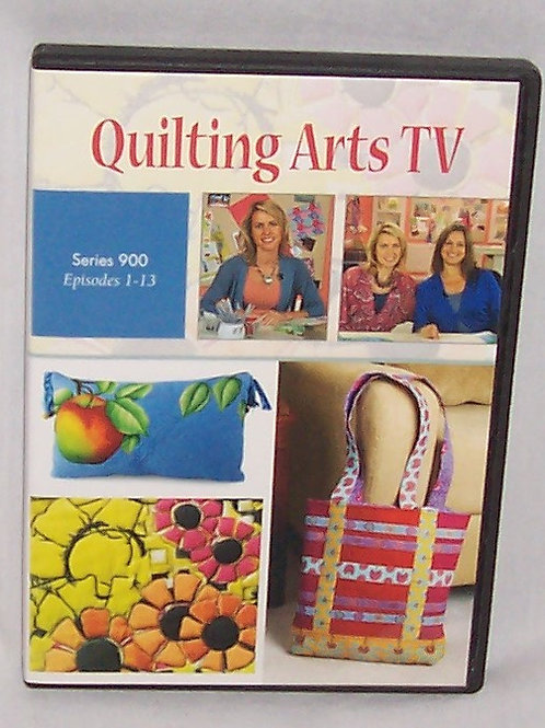 Quilting Arts TV Series 900 Episodes 1 - 13 DVD Patricia Bolton