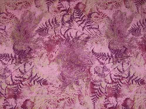 P&B Textiles Jennifer Sampon Naturescapes Ferns w/ Gold Fabric