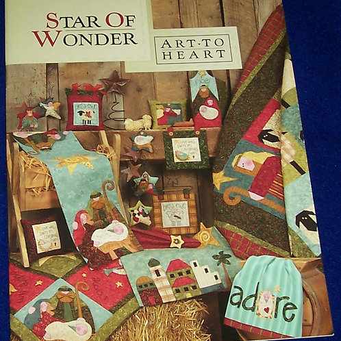 Star of Wonder Art to Heart Quilt Book