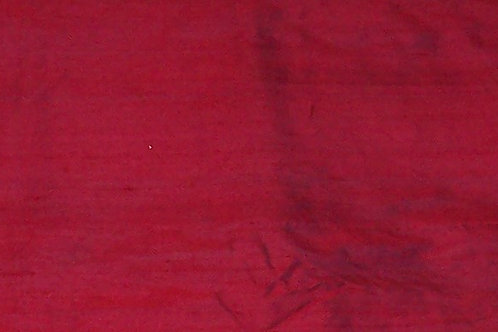Silk Dupioni By the Piece Red 1-1/2 Yards