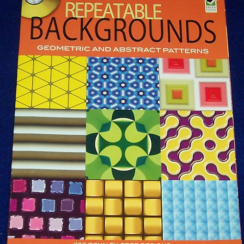 Repeatable Backgrounds + CD Geometric & Abstract Patterns