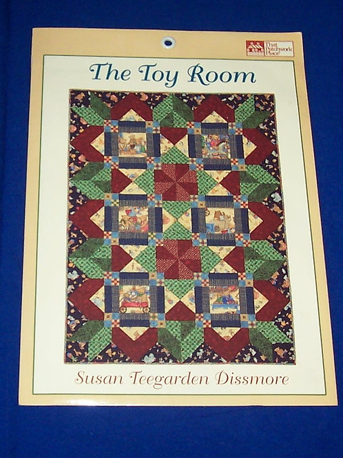 Patchwork Place The Toy Room Quilt Pattern Susan Teegarden Dissmore