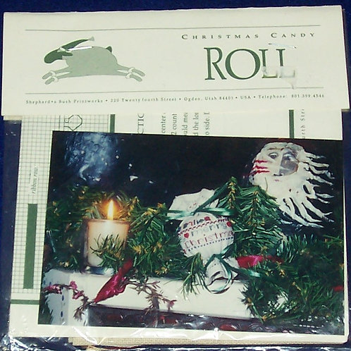 Cross Stitch Pattern Kit Shepherd's Bush Needle Roll Christmas Candy