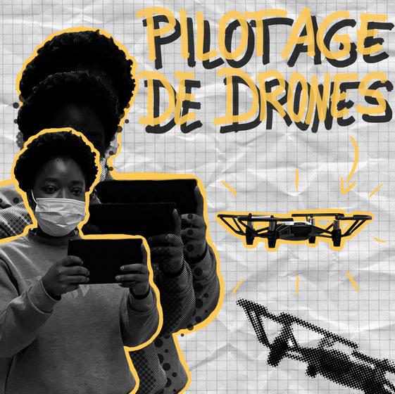 Pilotage de drones