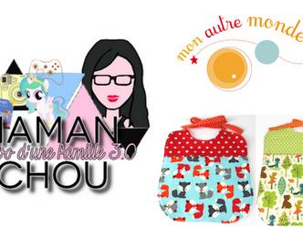 Gagnez des bavoirs chez Maman Chou !