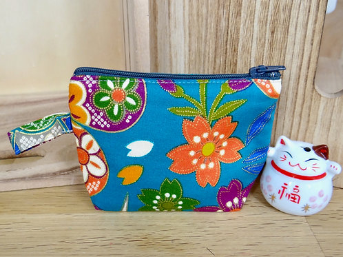 Porte-monnaie Sakura et papillons
