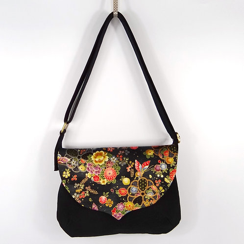 Sac besace Butterfly