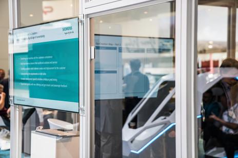 Siemens Innotrans co-creation room 2018