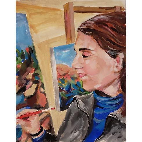 L. Litowitz Covid Self Portrait.jpg