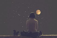 luna que mira