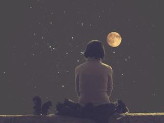 季節の変わり目の新月🌕満月