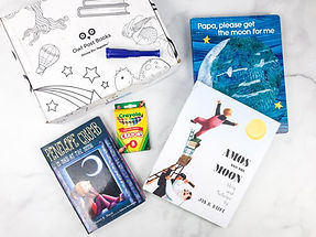 Imagination Boxes have 3 hand selected, age appropriate books, a themed toy, an interactive box and theme card that comes every month! A great gift for your favorite little reader, parent to be or favorite teacher!