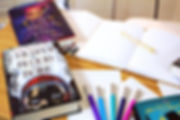 The Reader and Writer box will include a brand new YA book plus writing materials that every modern writer will love.Subscribe Today!