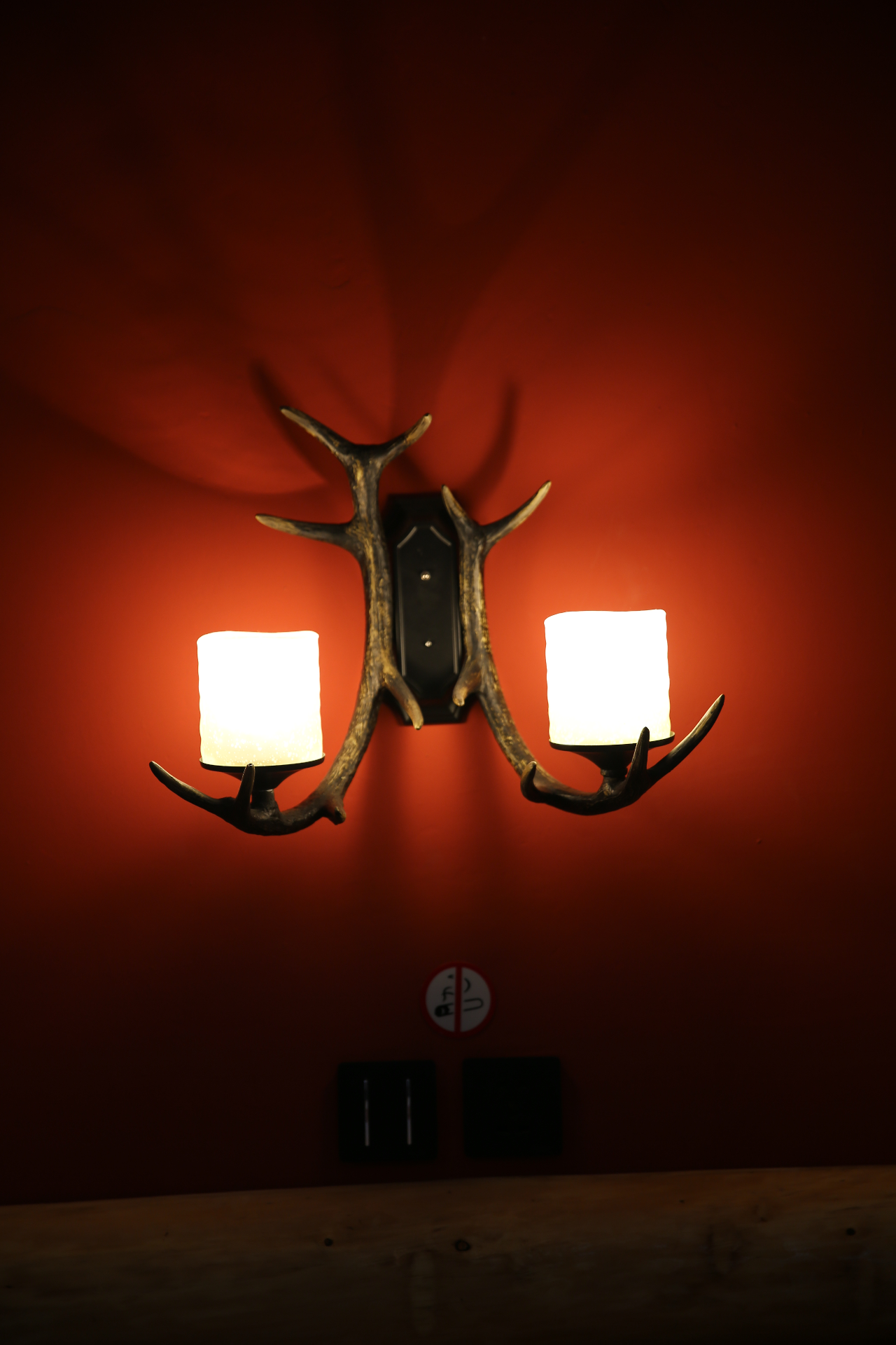 lamps in the room