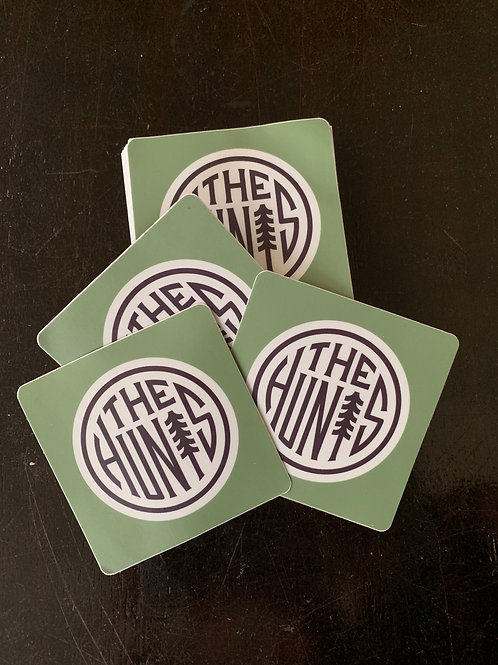 THE HUNTS STICKER - GREEN