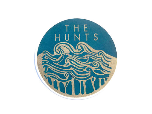 THE HUNTS - WAVES STICKER