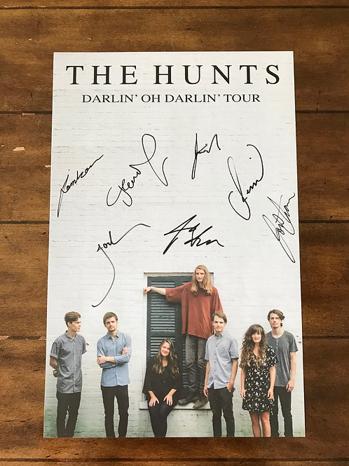 THE HUNTS POSTER - DARLIN' OH DARLIN' TOUR -