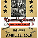 4/21-  The Remedy Band live at KnuckleHeads